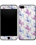 Purple Unicorns iPhone 7 Plus Skin