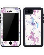 Purple Unicorns iPhone 7 Waterproof Case