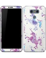 Purple Unicorns LG G6 Skin