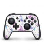 Purple Unicorns Nintendo Switch Pro Controller Skin