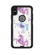 Purple Unicorns Otterbox Commuter iPhone Skin