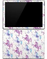 Purple Unicorns Surface Pro (2017) Skin