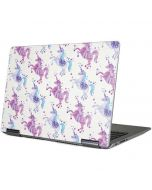 Purple Unicorns Yoga 710 14in Skin