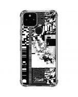 QR Glitch Google Pixel 5 Clear Case