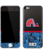 Quebec Nordiques Retro Tropical Print Apple iPod Skin