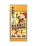 Rabbit Seasoning Galaxy Note 10 Skin