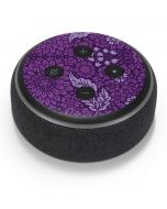 Radiant Orchid Floral Amazon Echo Dot Skin