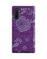 Radiant Orchid Floral Galaxy Note 10 Pro Case