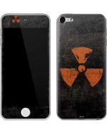 Radioactivity Black Apple iPod Skin