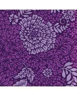 Radiant Orchid Floral Apple iPod Skin