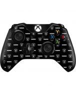 Raiders Blitz Series Xbox One Controller Skin