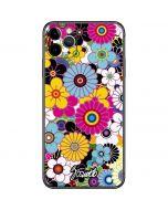 Rainbow Flowerbed iPhone 11 Pro Max Skin
