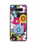 Rainbow Flowerbed LG K51/Q51 Clear Case