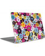 Rainbow Flowerbed Apple MacBook Air Skin
