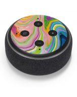 Rainbow Marble Amazon Echo Dot Skin