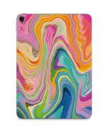 Rainbow Marble Apple iPad Pro Skin