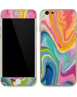 Rainbow Marble iPhone 6/6s Skin