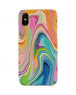 Rainbow Marble iPhone XS Max Lite Case
