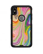Rainbow Marble Otterbox Commuter iPhone Skin