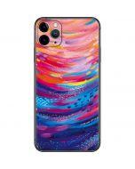 Rainbow Wave Brush Stroke iPhone 11 Pro Max Skin