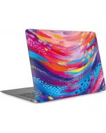 Rainbow Wave Brush Stroke Apple MacBook Air Skin