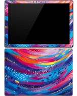 Rainbow Wave Brush Stroke Surface Pro (2017) Skin