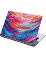 Rainbow Wave Brush Stroke Yoga 910 2-in-1 14in Touch-Screen Skin