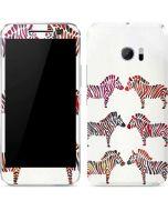 Rainbow Zebras 10 Skin