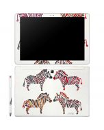 Rainbow Zebras Galaxy Book 12in Skin