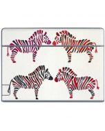 Rainbow Zebras Galaxy Book Keyboard Folio 10.6in Skin