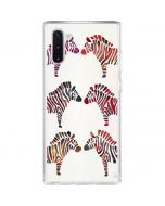 Rainbow Zebras Galaxy Note 10 Clear Case