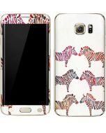 Rainbow Zebras Galaxy S6 edge+ Skin