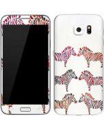 Rainbow Zebras Galaxy S6 Skin