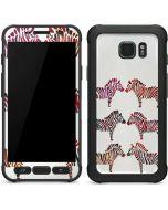 Rainbow Zebras Galaxy S7 Active Skin