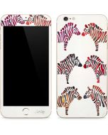 Rainbow Zebras iPhone 6/6s Plus Skin
