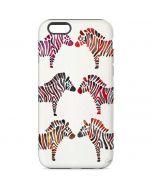 Rainbow Zebras iPhone 6s Pro Case