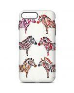 Rainbow Zebras iPhone 7 Plus Pro Case