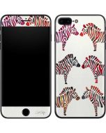 Rainbow Zebras iPhone 7 Plus Skin