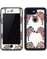 Rainbow Zebras iPhone 7 Plus Waterproof Case