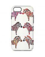Rainbow Zebras iPhone 7 Pro Case