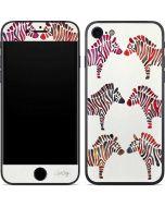 Rainbow Zebras iPhone 7 Skin