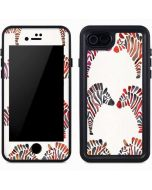Rainbow Zebras iPhone 7 Waterproof Case