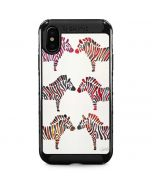 Rainbow Zebras iPhone X Cargo Case