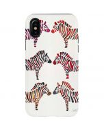 Rainbow Zebras iPhone X Pro Case