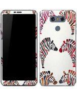 Rainbow Zebras LG G6 Skin