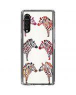 Rainbow Zebras LG Velvet Clear Case