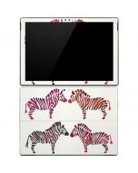 Rainbow Zebras Surface Pro 4 Skin