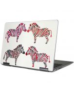 Rainbow Zebras Yoga 710 14in Skin