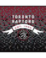 Toronto Raptors Red and Black Digi Dell XPS Skin