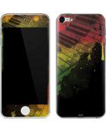Rasta Color Keys Apple iPod Skin